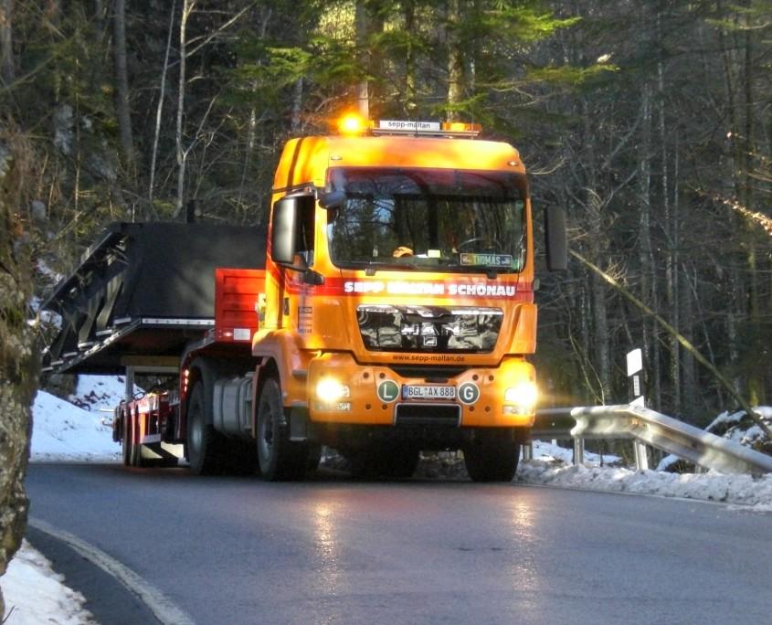 Maltan GmbH - Sonder-/ Schwertransporte