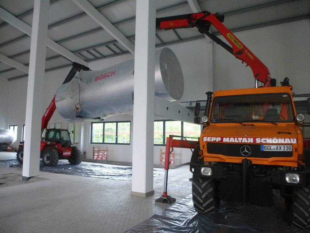 Maltan GmbH- Maschineneinbringung