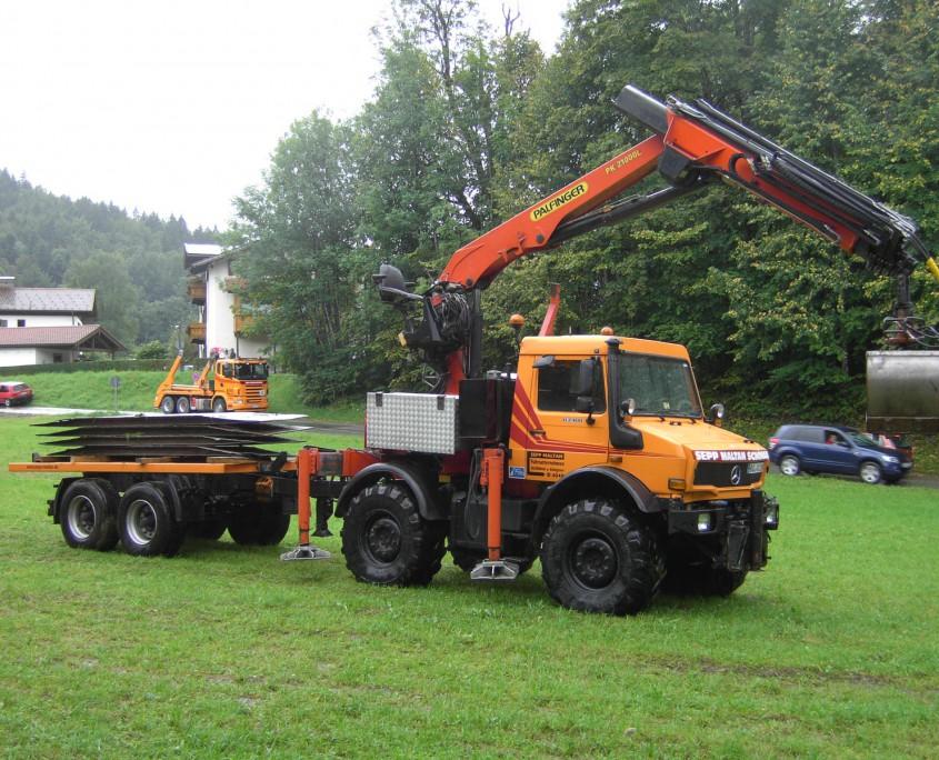 Maltan GmbH - Ladekranverleih - U2400 mit PK 21000L