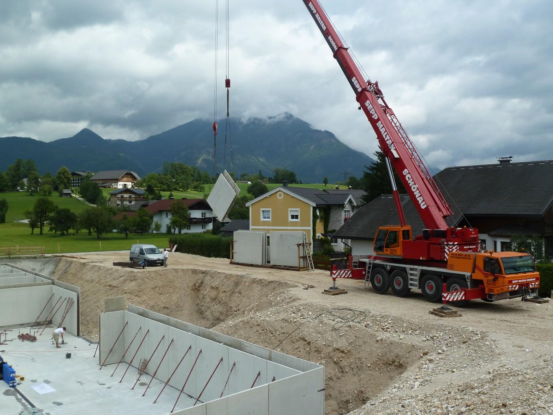 Kranverleih in Südbayern